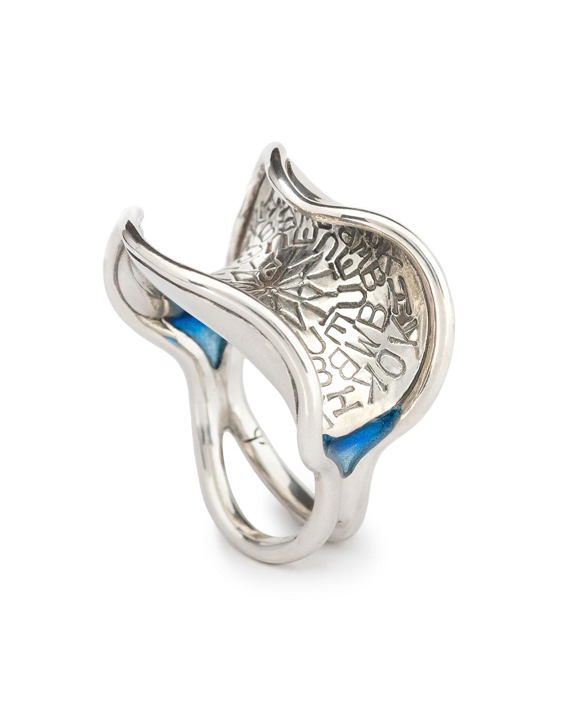 Embellish - RingSterling silver, resinSize ~7.25