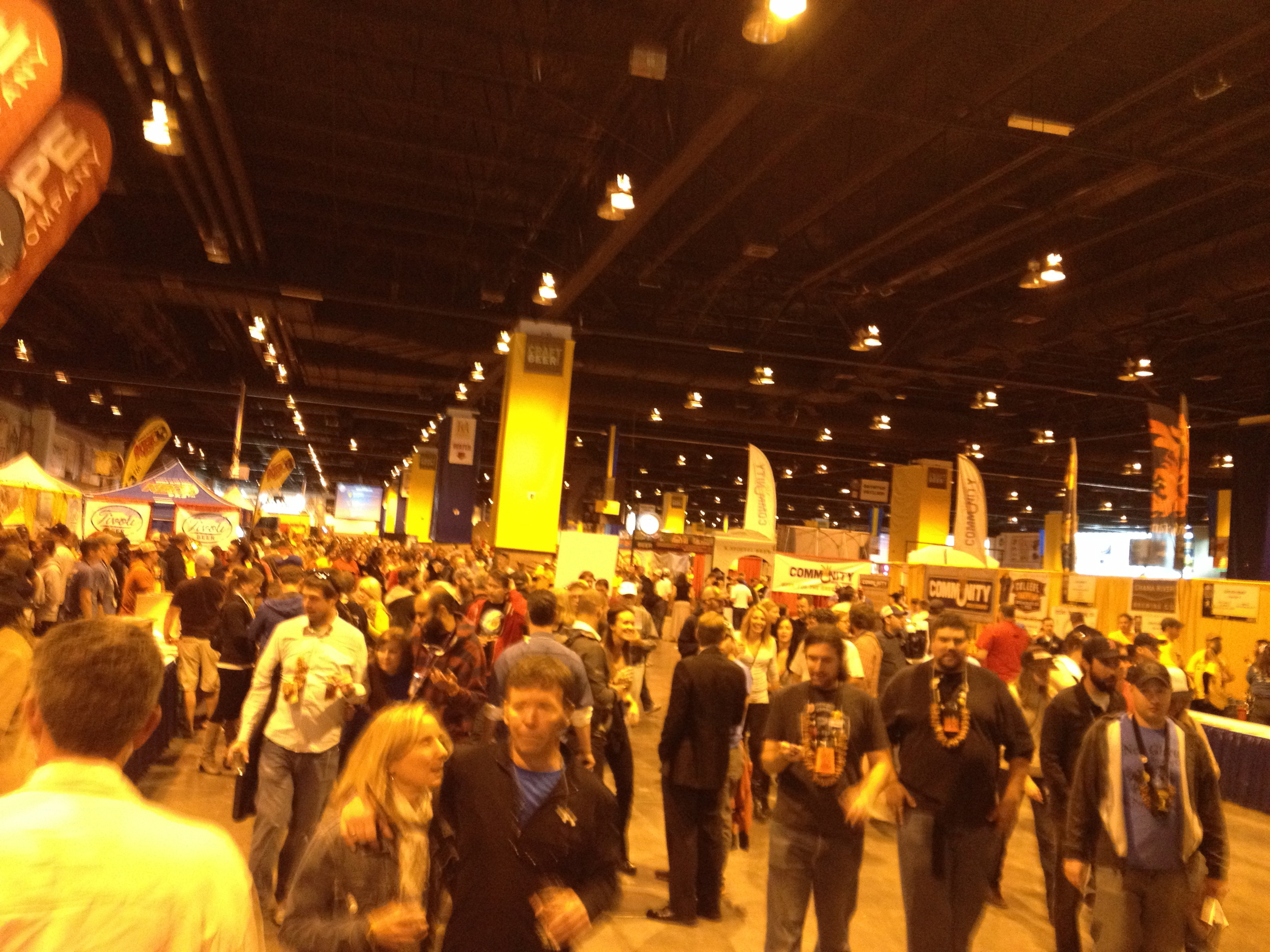 The lines are bonkers, the crowd isn't *quite* as polite as a Midwestern one, but it's a hell of a party.