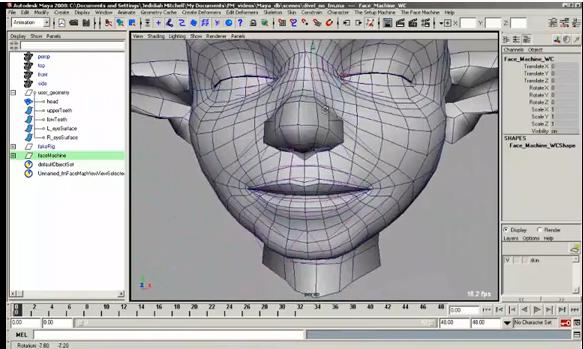The Face Machine — Anzovin Studio