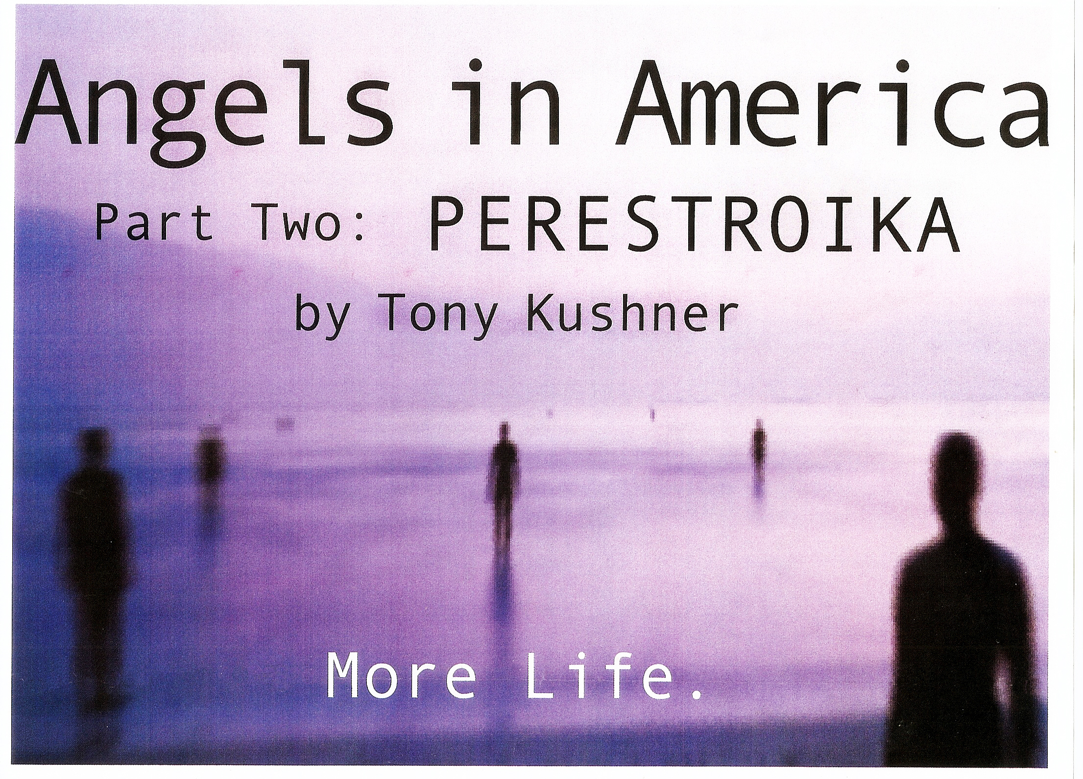 Graphic Design, Angels in America, 2002.