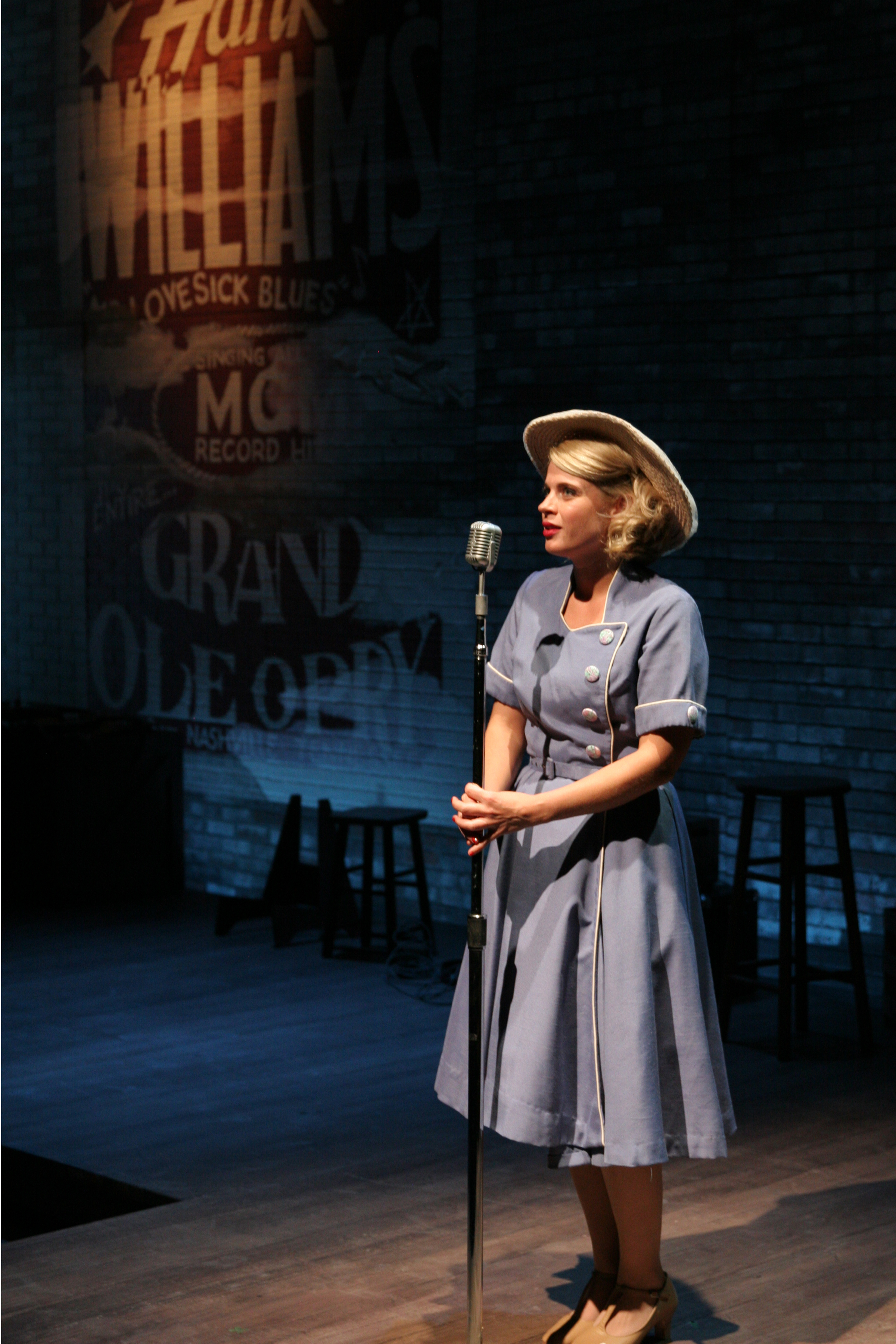 Sarah Coykendall.  Scenic Design by Liliana Duque Pineiro, Costume Design by Valera Coble, Lighting Design by Allen Willner, Sound Design by Lawton Lovely.  Photo by Terry Sullivan.