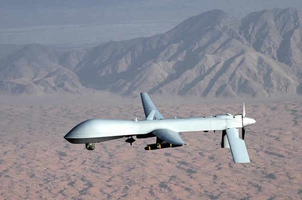 The MQ-1 Predator Drone is a piston powered base line drone with a per unit cost of about $5 million
