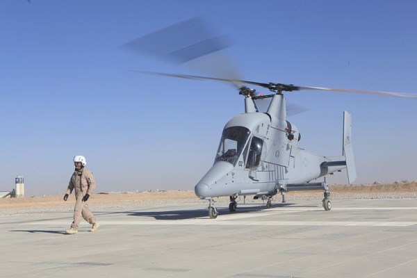 Only two of the Lockeed Martin/Kaman Kmax autonomous helicopters were ever built. One has since crashed. Estimated per unit cost-over $20 million