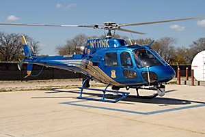 Today San Antonio Police fly modern A Star helicopters. Unlike when Billy Anders piloted the unit's Hughes 269 piston helicopters in the late 70s.