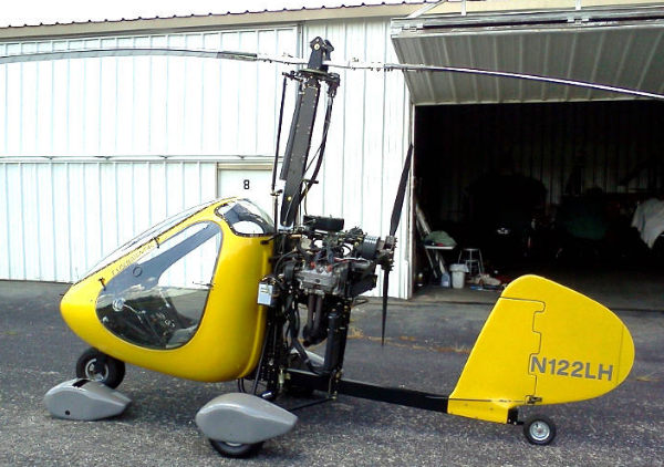 The RAF 2000 is just one of many popular Gyrocopter models you can buy used, or build from a kit