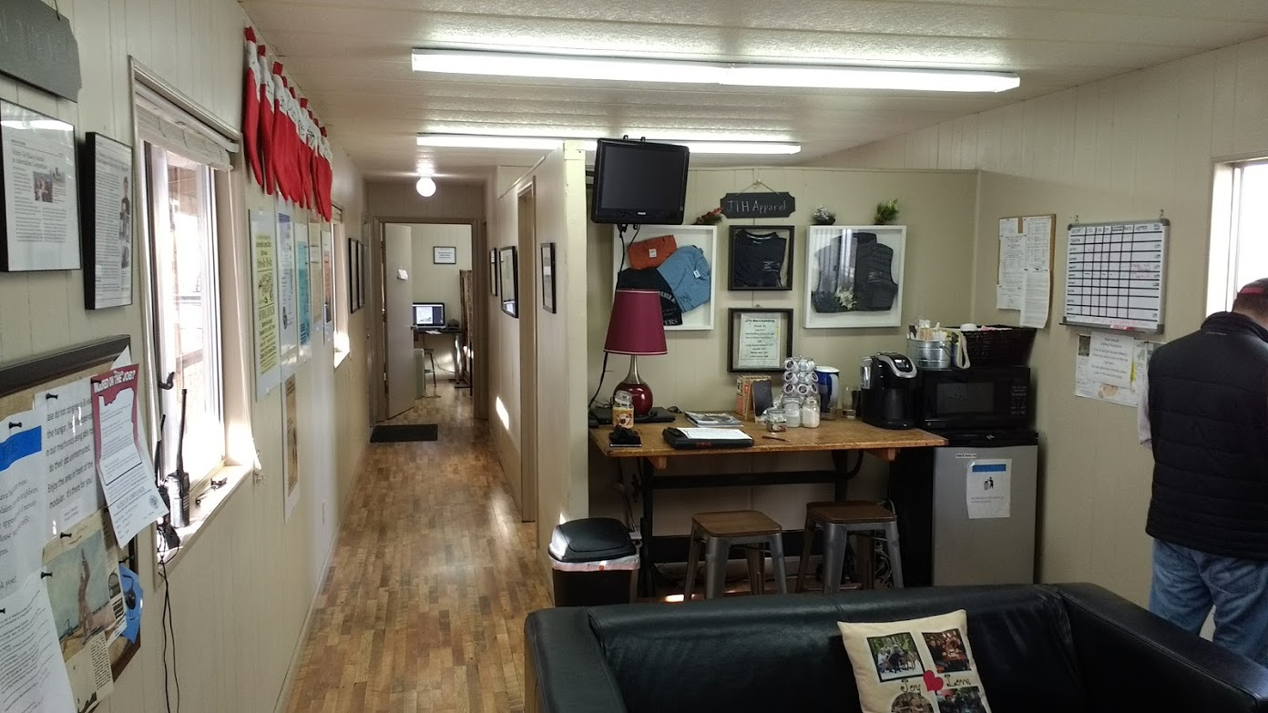 The main office at JTH. Student/Pilot lounge, but mostly this is where you will find great coffee and great conversation.