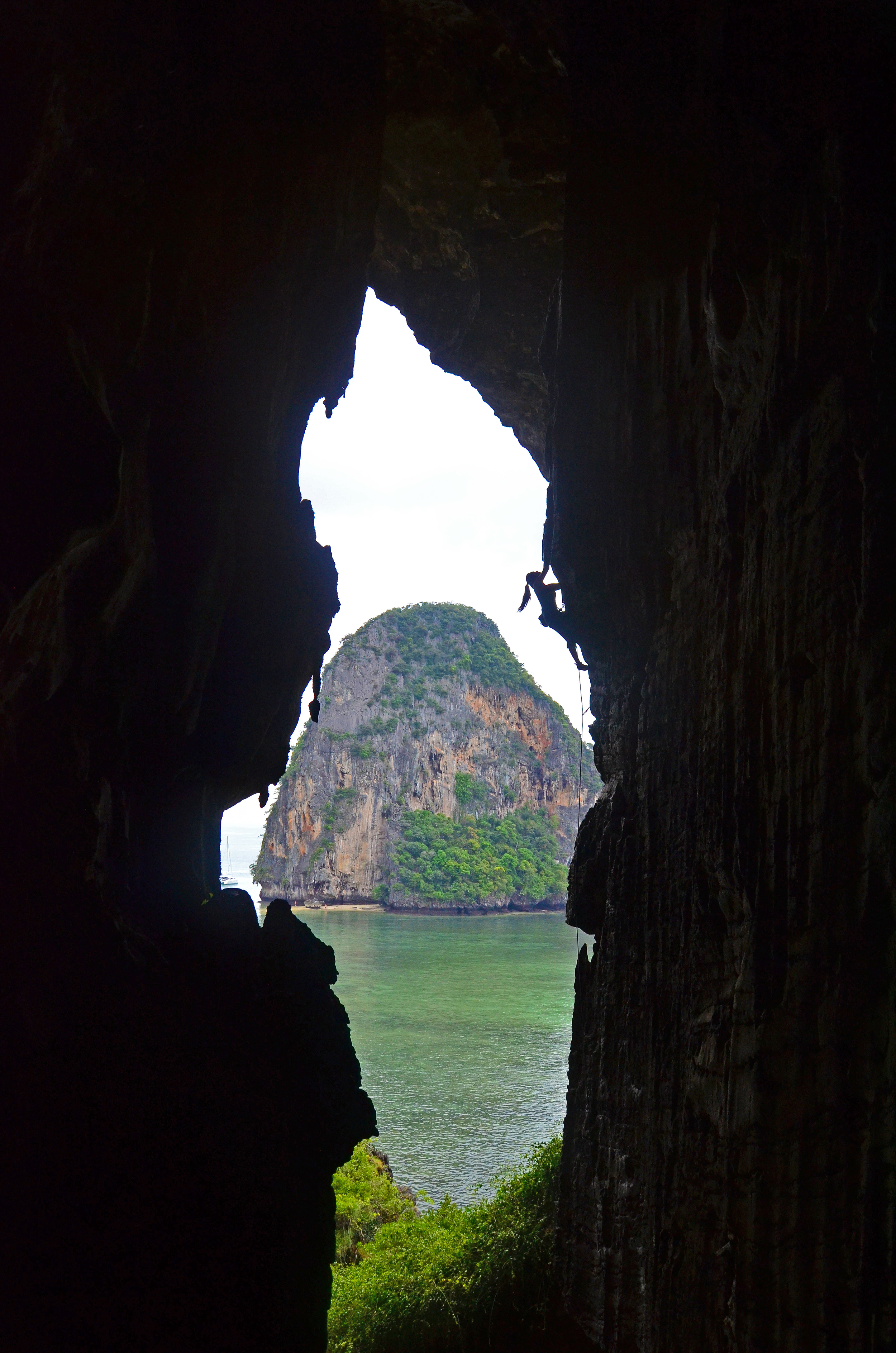 Climbing the Cavern's Mouth