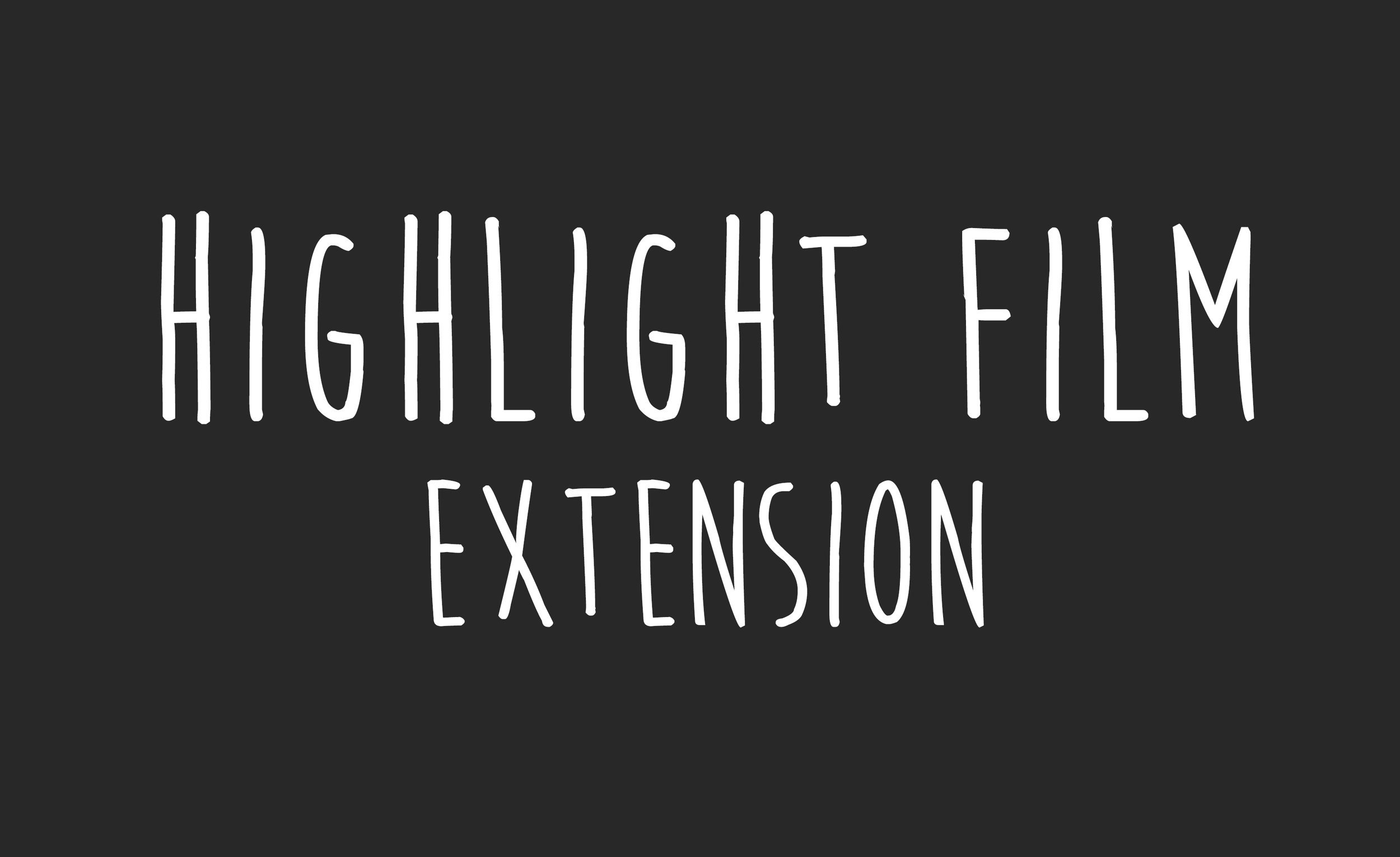 $300 - This extra allows you to extend the length of your highlight film by 1-2 minutes. The highlight film is what includes all your best moments in combination with music and vows that bring all those emotions rushing back. Adding an extra minute or two to that video is never a bad idea.