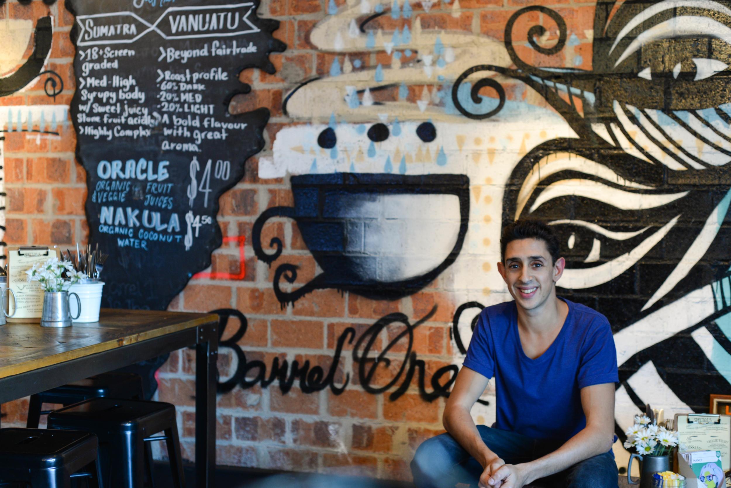 Dan from Barrel One Coffee Roasters