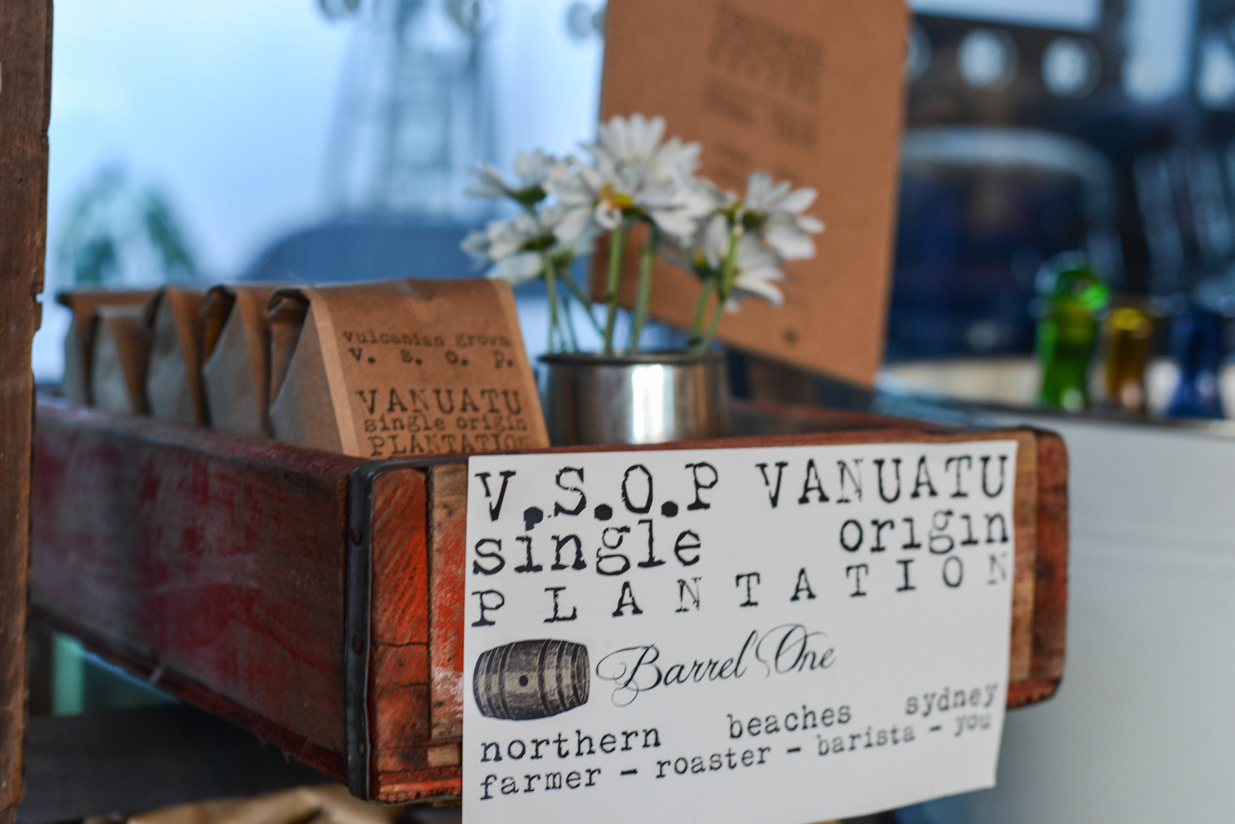 Barrel One Coffee Packages
