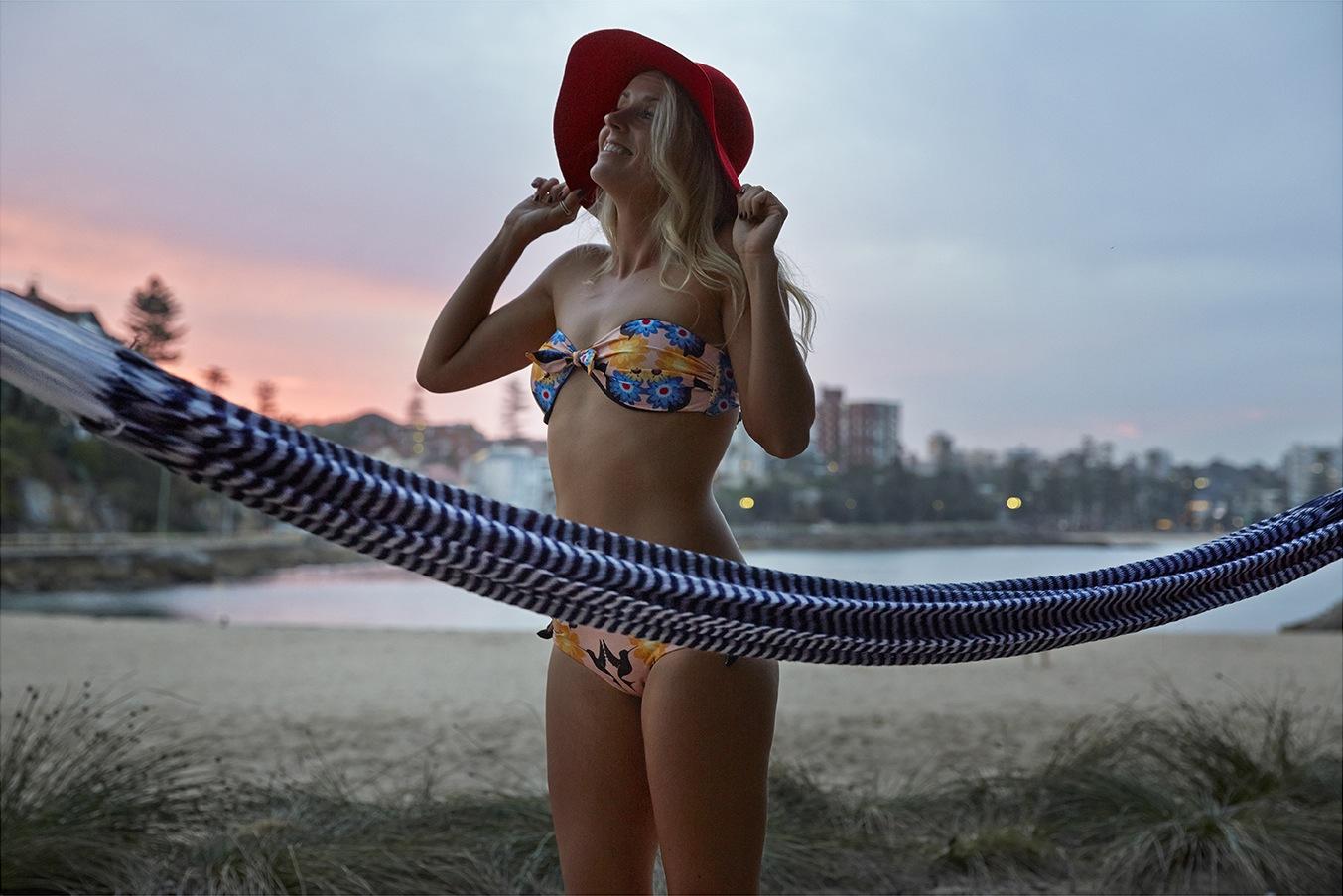 Tropical Aviary Bikini by  Shapes in the Sand Swimwear   Vineyard Haven Hammock by   Yellow Leaf Hammocks