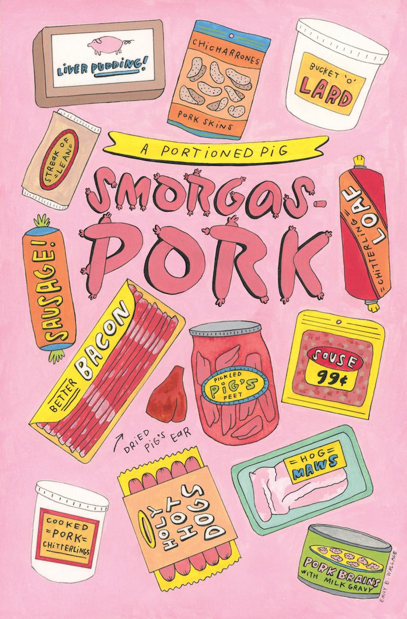 Smorgas-Pork