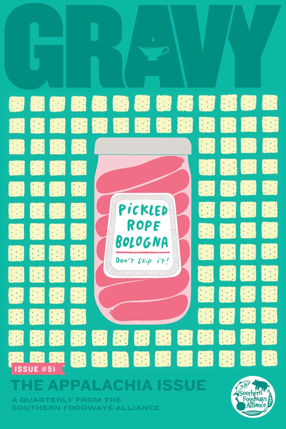 Pickled Rope Bologna