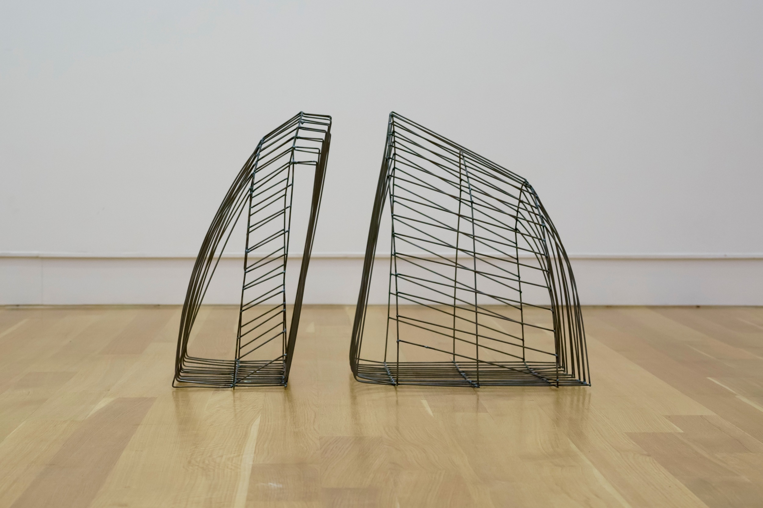"""Cage 1,  2015  Steel, 23"""" x 32"""" x 20"""""""