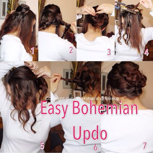 Romantic Updo Blog Jessica Tyransky Hair And Makeup
