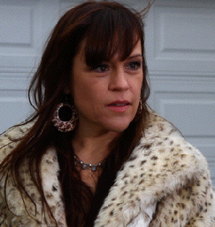 Jocelyn Carbaugh (Christine Elise McCarthy)  is the most successful Realtor in the Chambersburg area. However, no one can figure out why her client-list is comprised only only of men.  (Route 30, Mojave Phone Booth, ER, 90210)