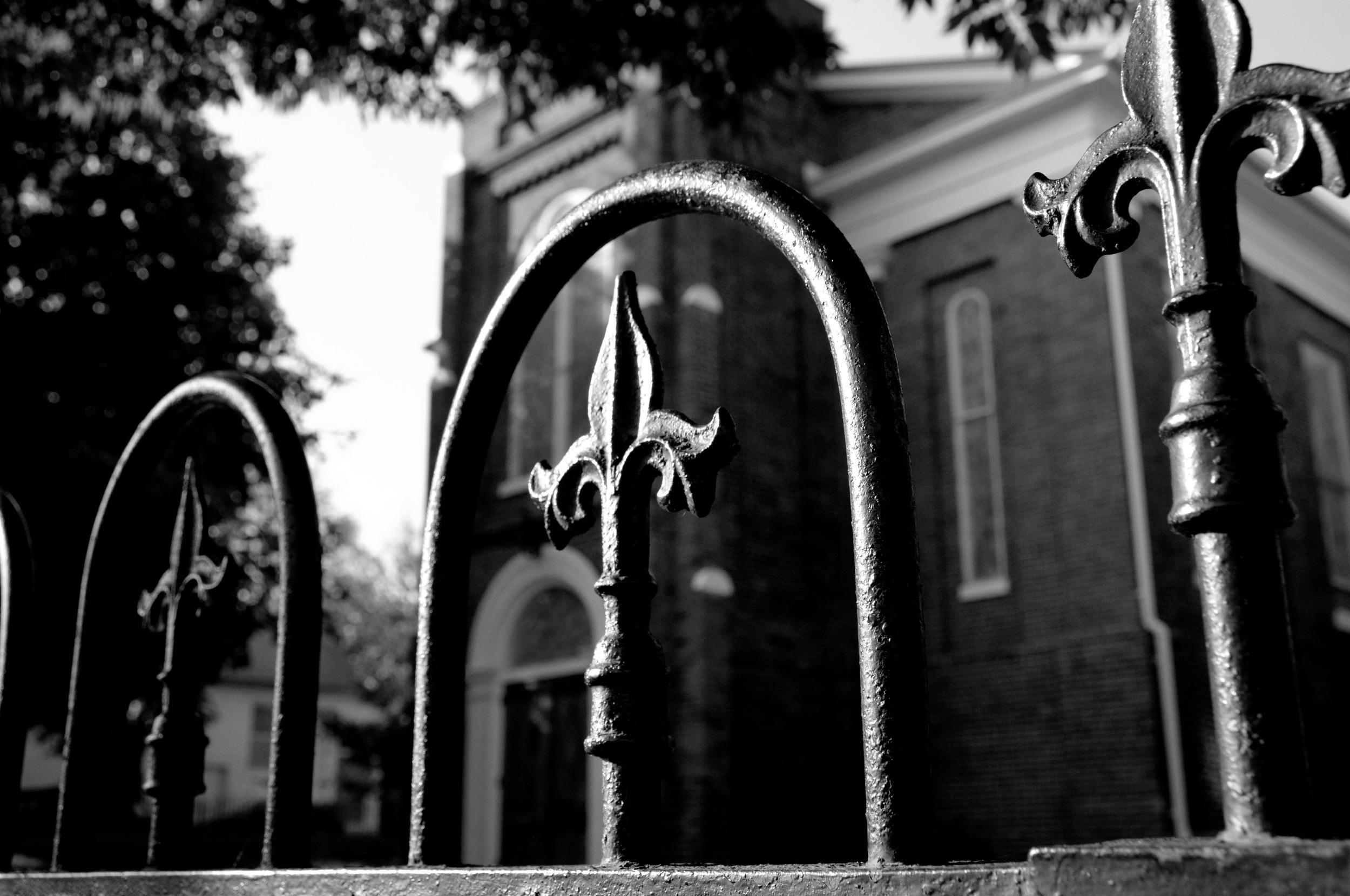 Church Gates - Nikon D90