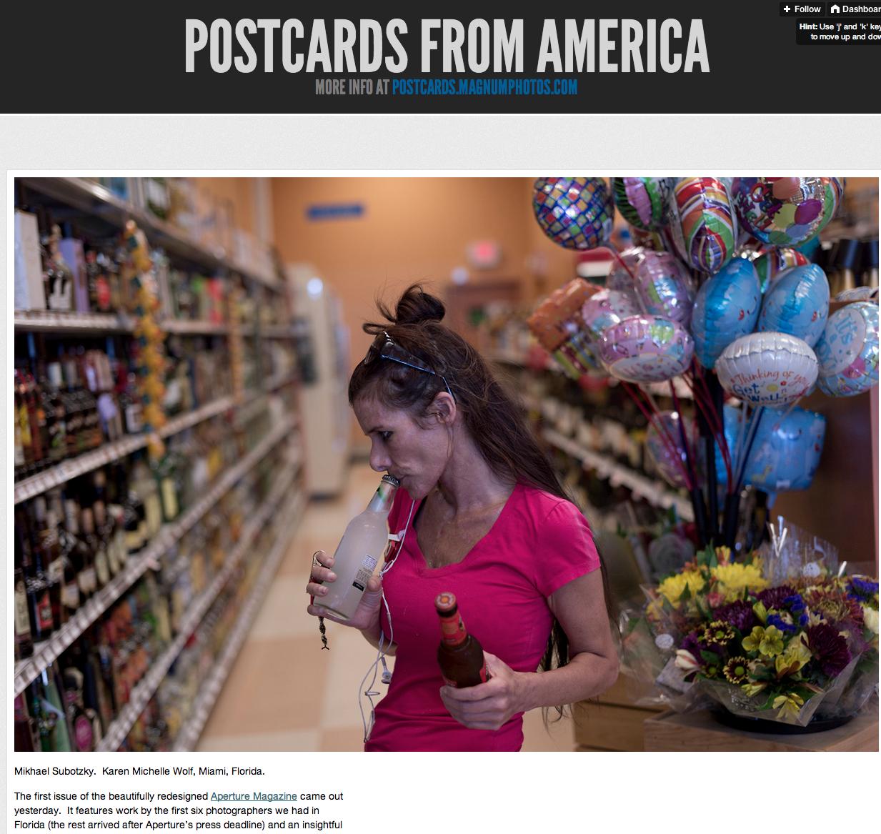 Postcards From America -http://postcardsfromamerica.tumblr.com/