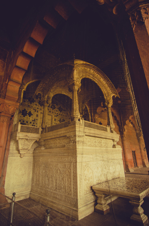 The Marble Throne (in Diwan-i-Am)