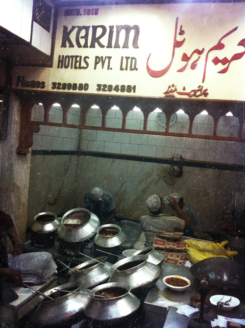 Karim's - established in 1913,  the owner's ancestors were chefs for the courts of the Mughal emperors, even once working at Red Fort (which we visited on our first day in Delhi and made our first blog post about!)