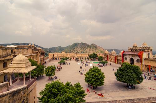 View of Jaleb Chowk