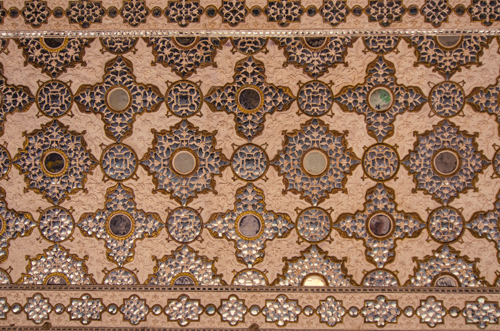 The roof, along with every other square inch of the winter palace, was covered in intricate designs