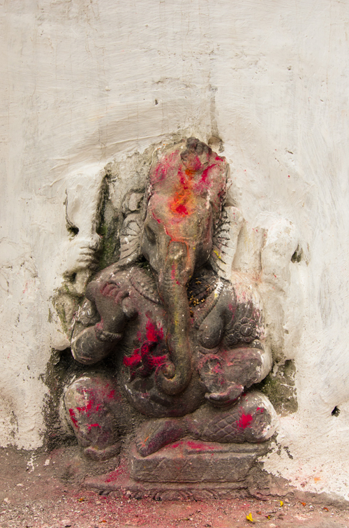 Ganesh was a super popular deity around Kathmandu