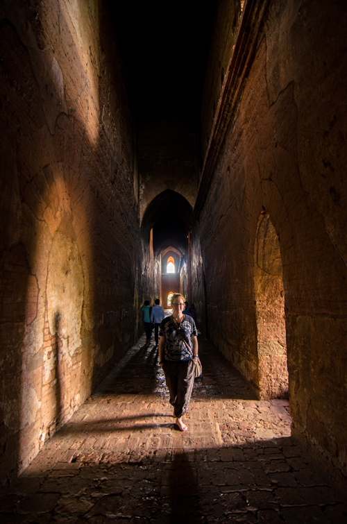 Walking barefoot through the cool stone hallways of the temples was a welcome retreat from the blistering sun outside.