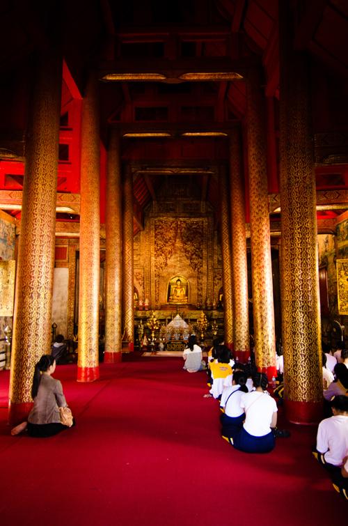 One of the wihahn (sanctuaries) at Wat Phra Singh