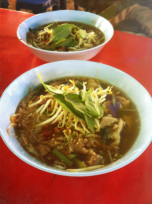 Noodle soup from the streets of Bangkok