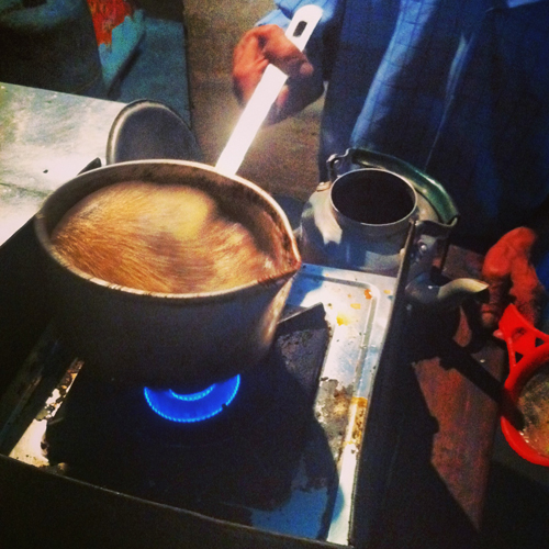 Indian Street Chai (without hesitation)