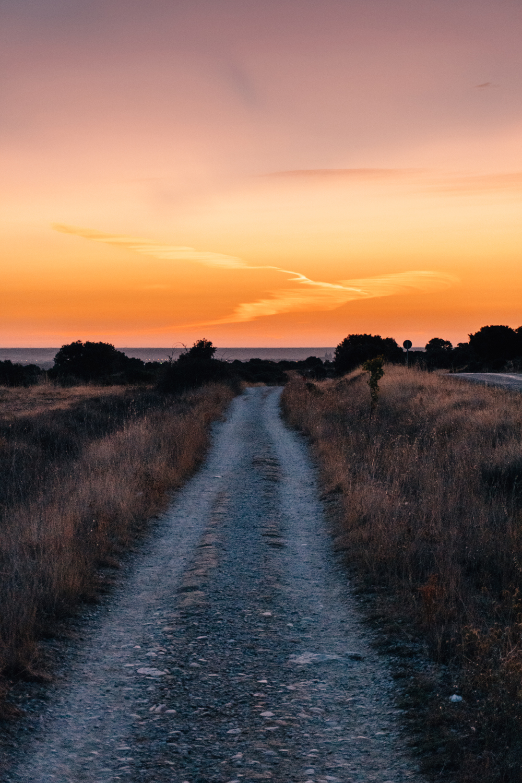 A stunning sunrise, somewhere along the Way