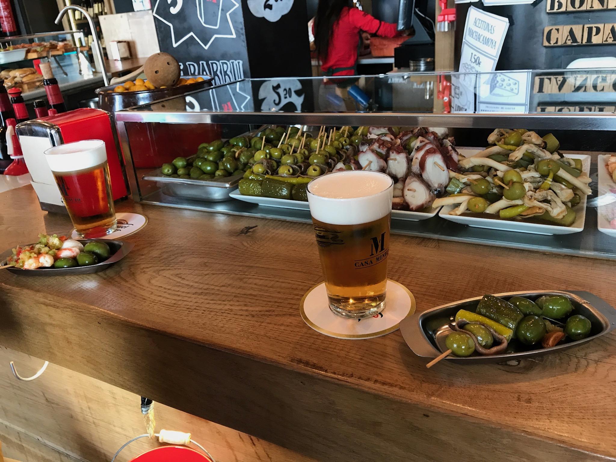 Delightful tapas in Burgos