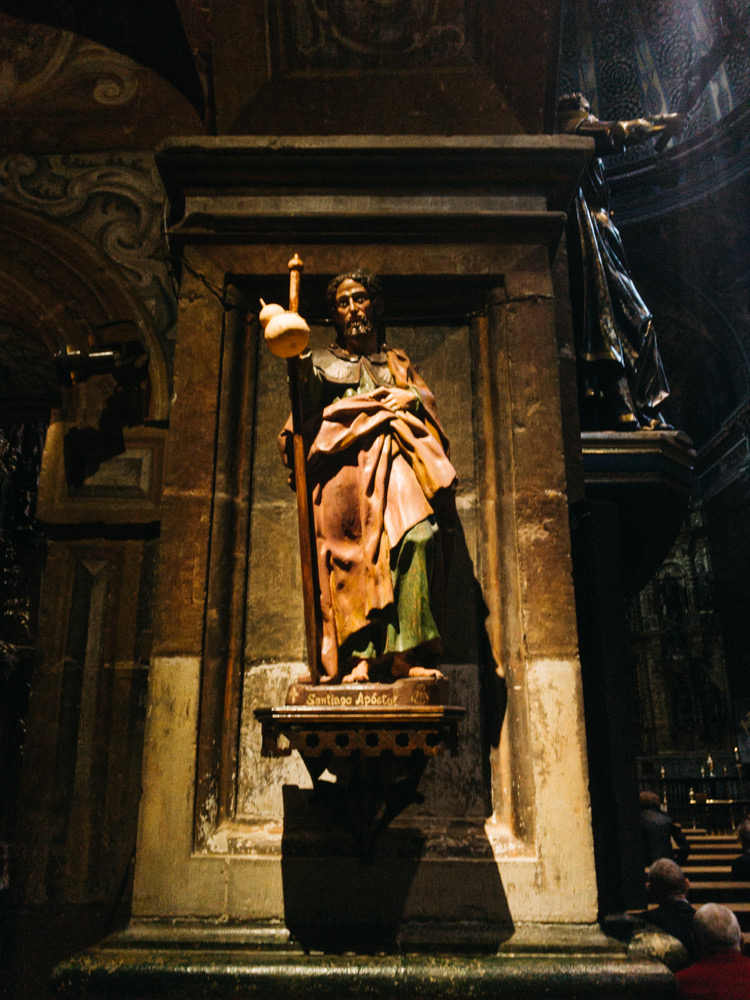 Saint James in Church of Santa Maria, Los Arcos