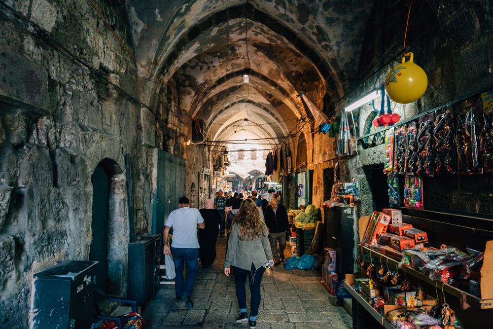 Bazaars of the Muslim Quarter