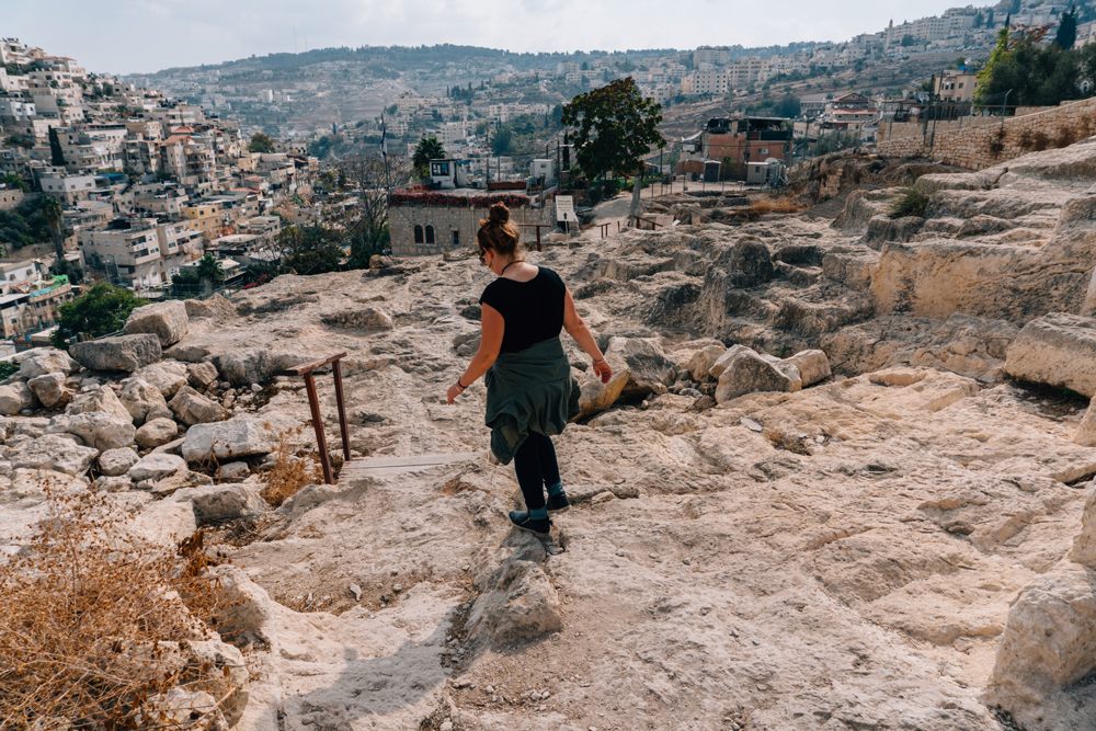 Exploring the quiet, ancient ruins of the City of David