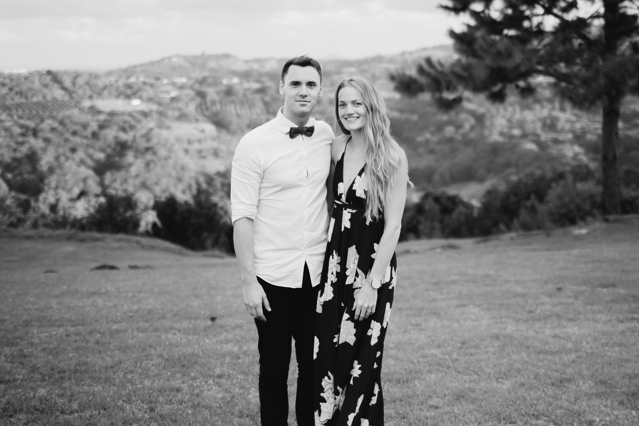 My wife Lyndsay and I.