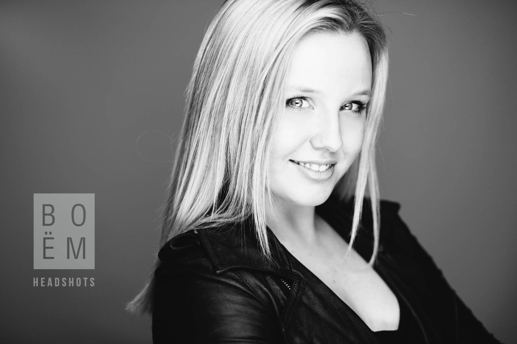 A Professional Headshot session for Ashleigh by Andre Gooden for Boem Headshots, the premier headshot photographer in Adelaide