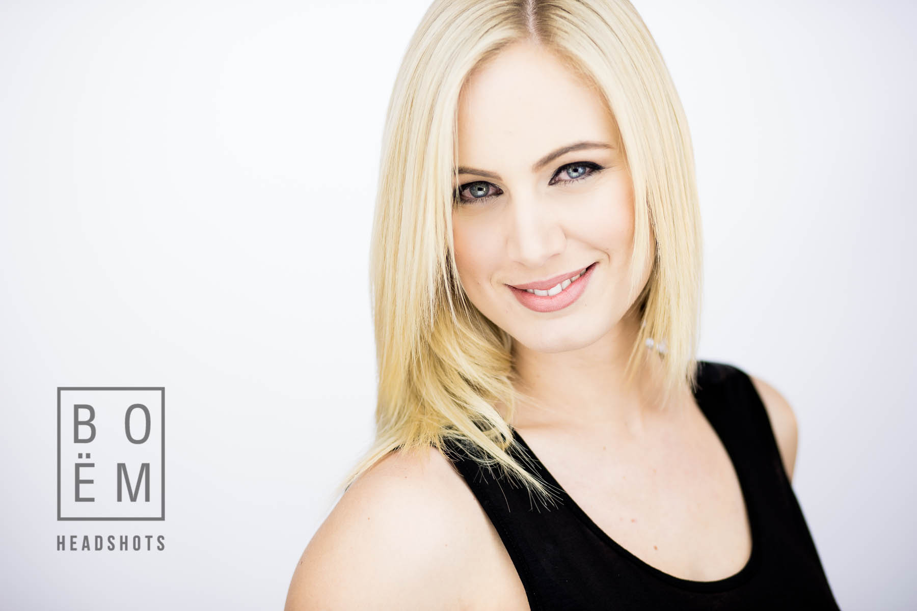 A professional headshot session for Kristen, a model and actress here in Adelaide by Andre Gooden for Boem Headshots