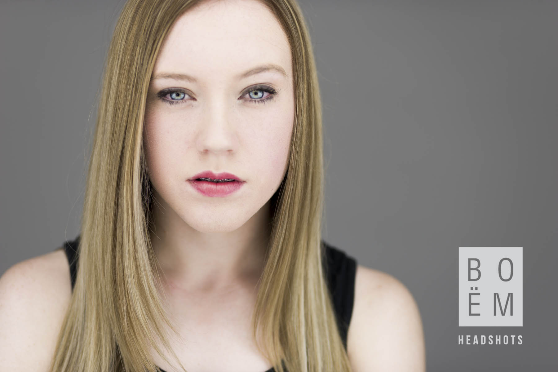 A sneaky preview at Tanysha's headshot session this week.