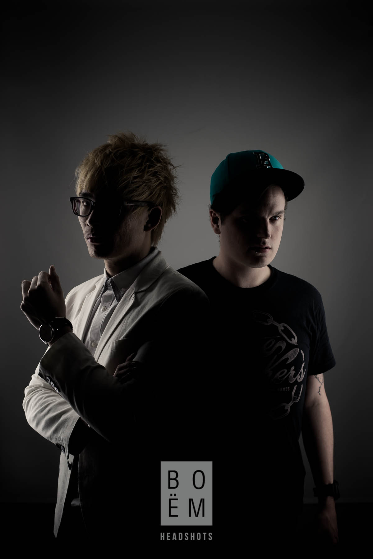A commercial and conceptual shoot for Matt and Vinh, the minds behind Adelaide's top fringe act, Mindblown.