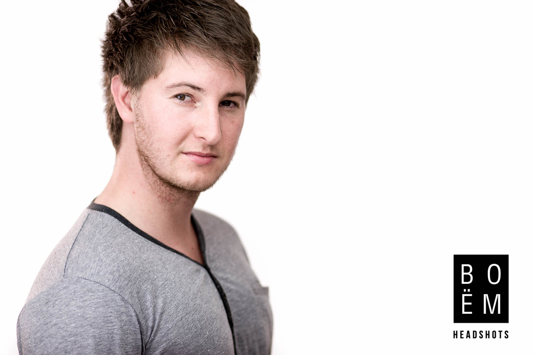 A preview of my professional headshot session for Aaron, an actor here in Adelaide.