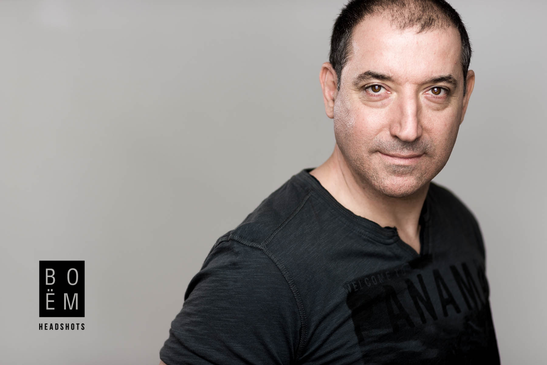 A sneak peek at my session with Marcello today, we had a blast shooting his new acting head shots.