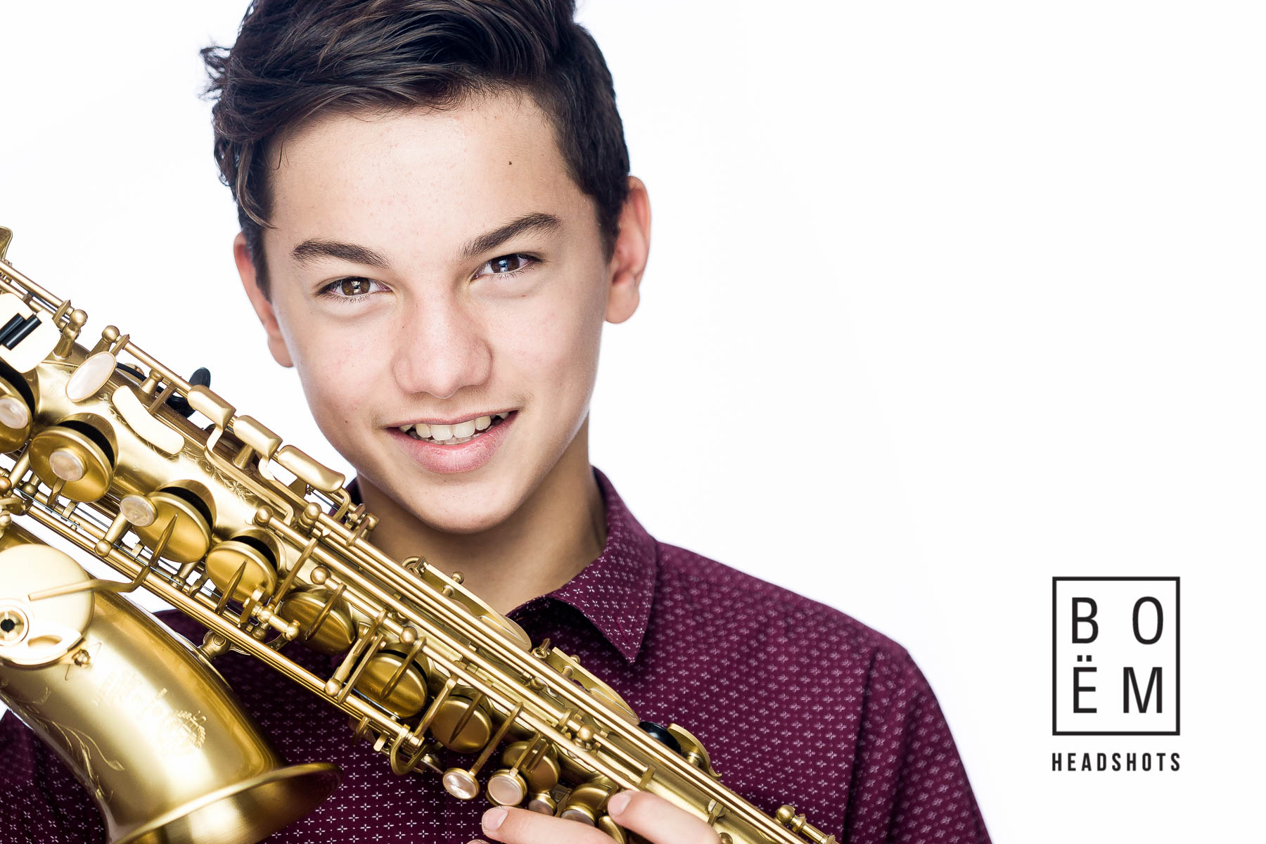 Here's a quick look at my session with this talented young musician and budding actor. We had a blast shooting his new headshots in the studio today.