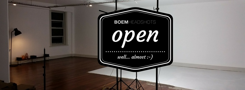 Our brand new photography studio open in Adelaide forBoem Headshots byStudio 415. Specialising in Professional Headshots and studio rentals.