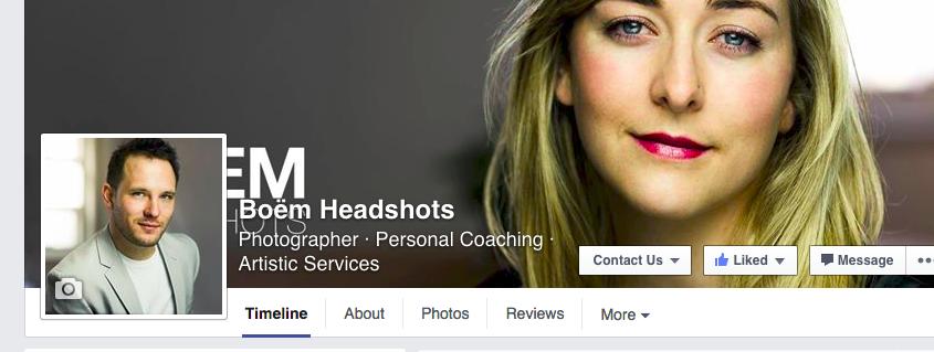 My facebook headshot