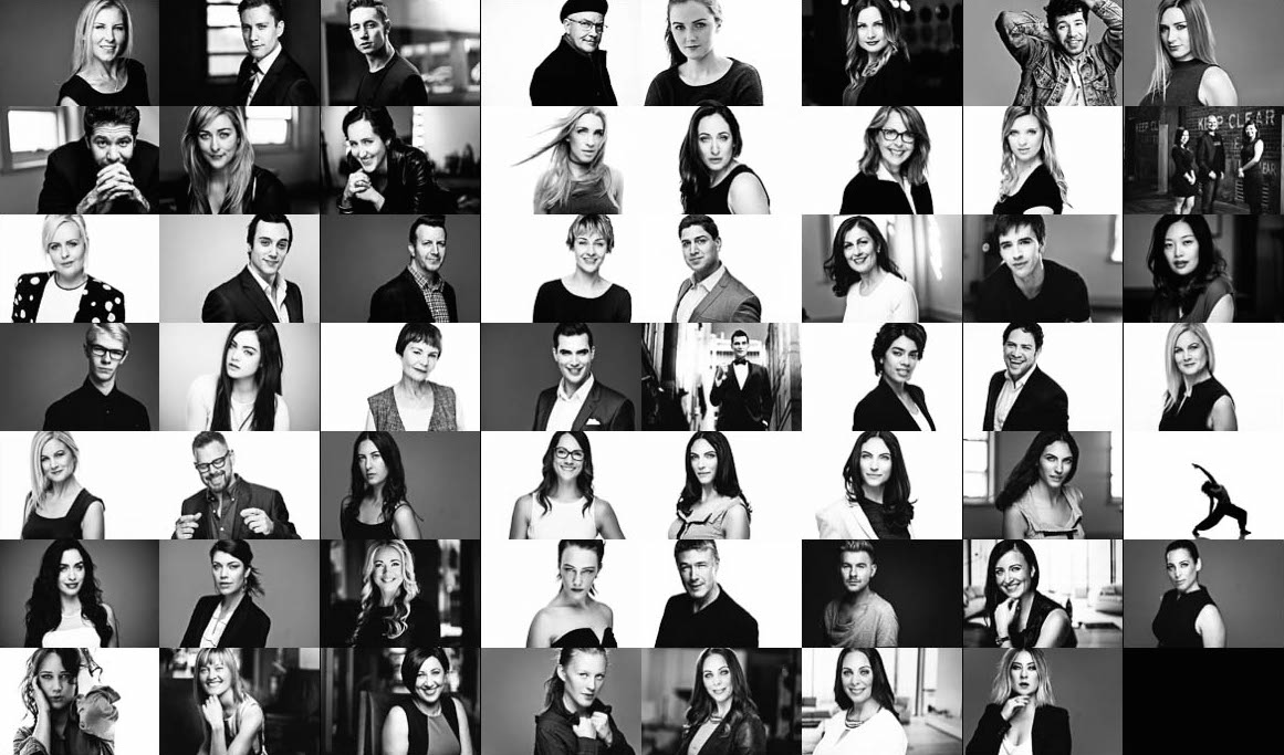 It's a black and white kinda week so i thought i'd celebrate by sharing my favorite black and white headshots from the last 6 months.