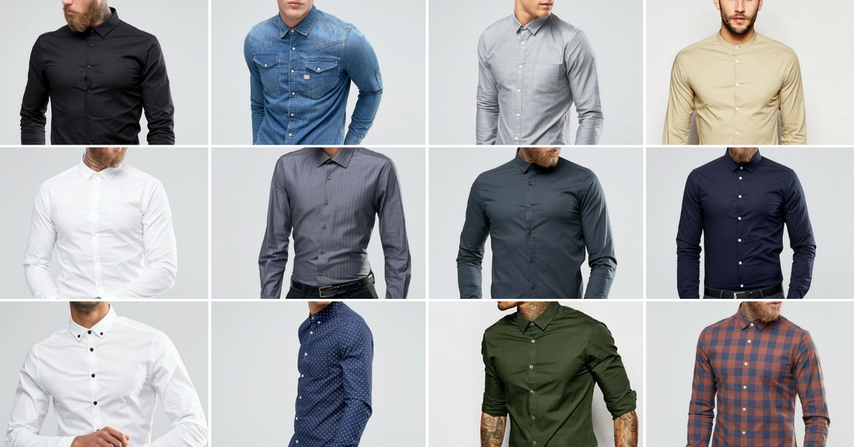 Shirts are a classic and depending on if you want a more corporate look or more relaxed, this item is a key to finish of a look, both on it's own and as part of a larger outfit.   Images found on ASOS.com