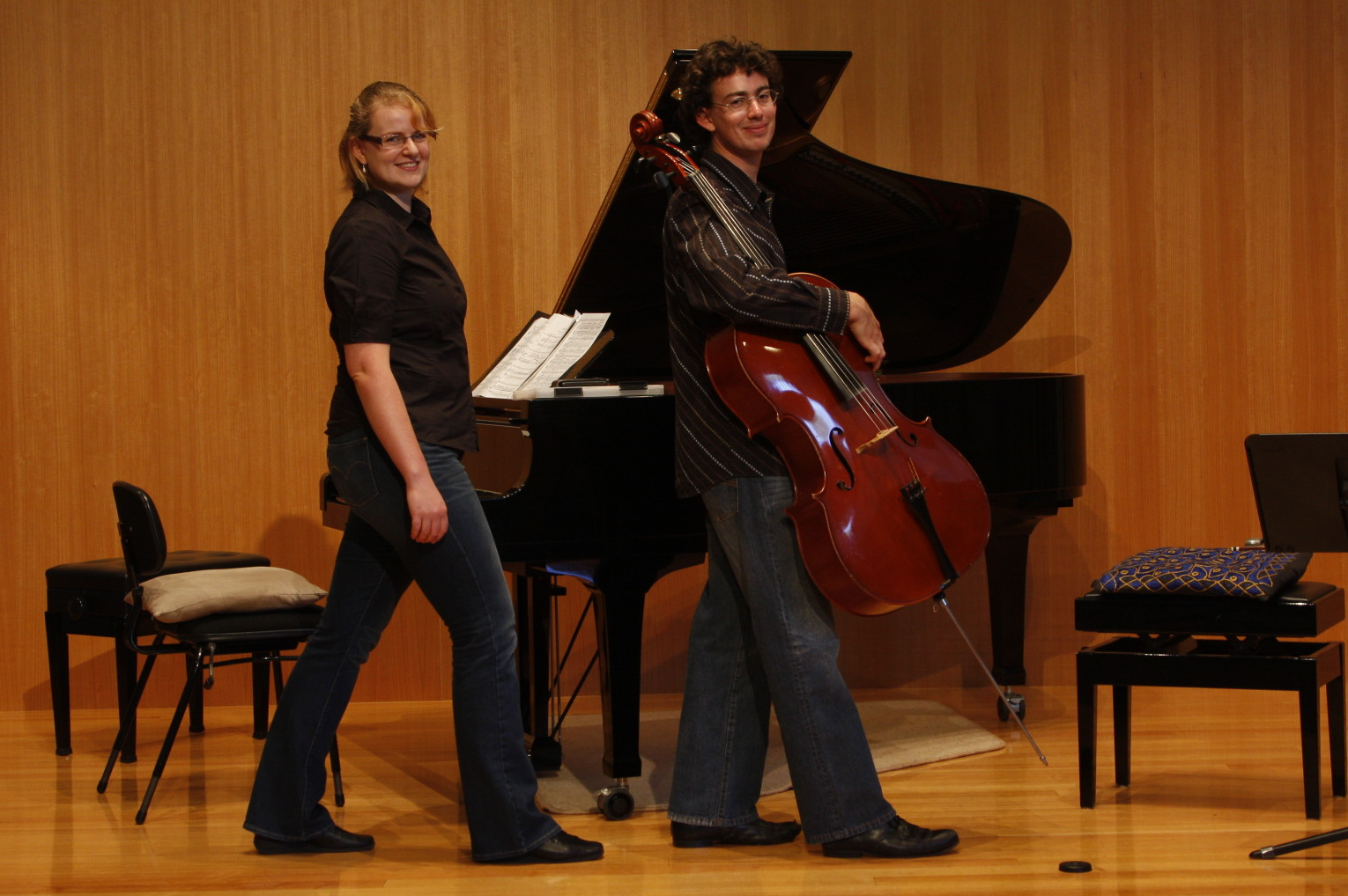 Kimberley Steele & Jack Hobbs at the Wesley Music Centre, March 6, 2013