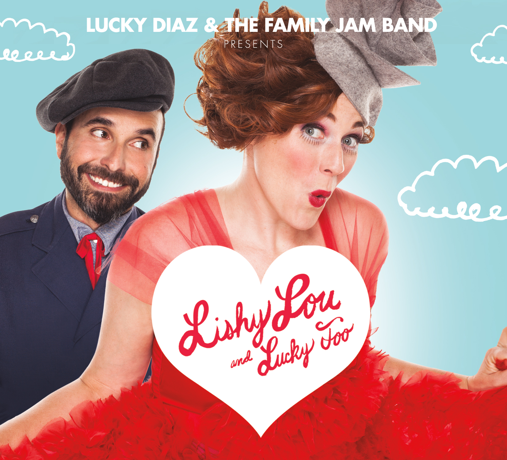 Lishy Lou and Lucky Too. a new album from Lucky Diaz and The Family Jam Band-Coming soon!